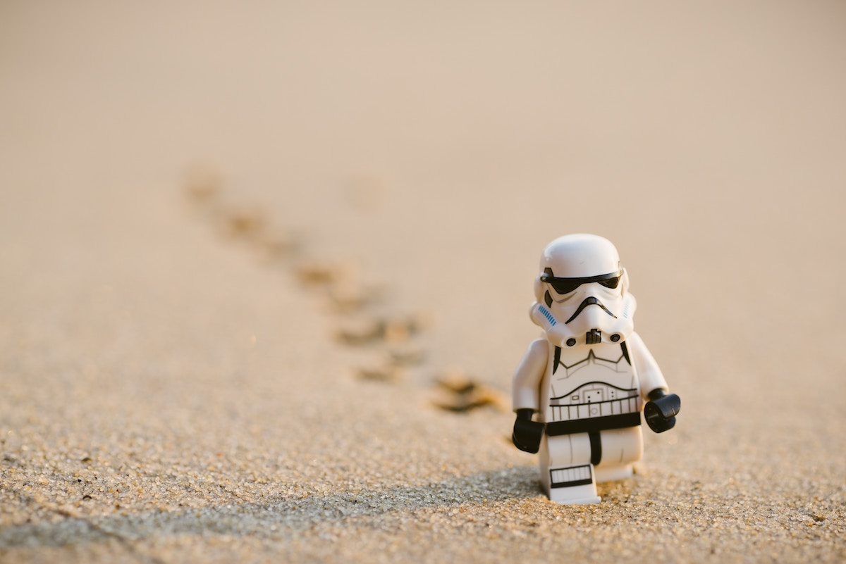 小さな歩み